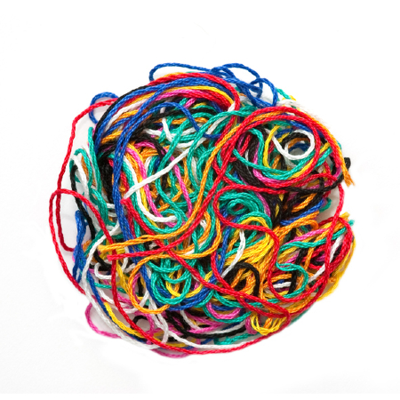 A ball of tangled string. Credit: https://www.istockphoto.com/au/portfolio/the_guitar_mann