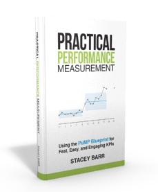 Practical Performance Measurement: Using the PuMP Blueprint For Fast, Easy, And Engaging KPIs, book by Stacey Barr