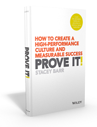 Prove It! How to Create a High-Performance Culture and Measurable Success, book by Stacey Barr