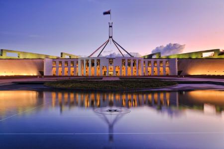 Australian Parliament House. Credit: zetter